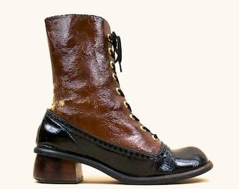 NYLA mega platform high heels