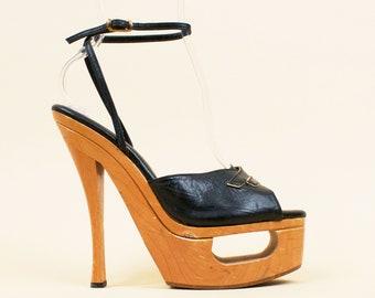 946a052ca6a See through heels   Etsy