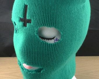 Ofwgkta Odd Future Tyler The Creator - Ski Mask - Balaclava With Professionally Embroidered Cross