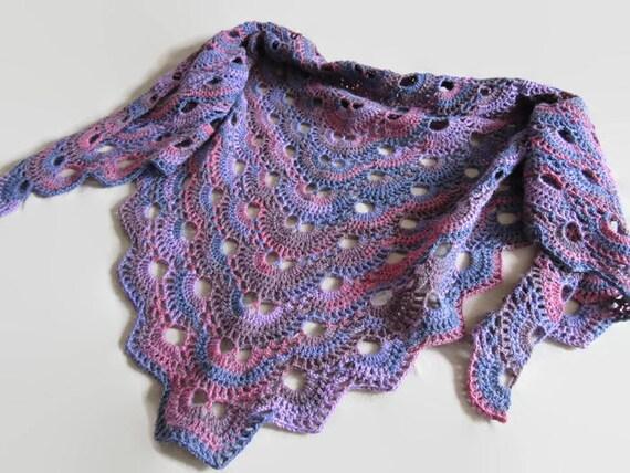 Häkeln Sie Virus Schal Multicolor Virus Schal häkeln Schal | Etsy