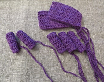 Reusable Tampons Eco friendly Reusable Large Crocheted Tampons Large crochet tampons Eco Friendly Washable Reusable Tampons cotton tampons
