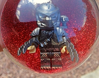 1 Handmade Christmas Tree Bauble Decorations Minifigure Mini Figure Predator Alien