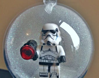 1 Handmade Christmas Tree Bauble Decorations Minifigure Mini Figure Star Wars Stormtrooper