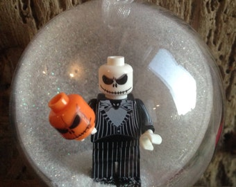 1 Jack Nightmare Before Christmas Baubles Decoration Minifigure Mini Figure Lego compatible
