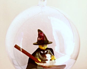1 Handmade Christmas Tree Bauble Decorations Minifigure Mini Figure Harry Potter