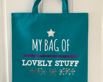 My Bag of Lovely Stuff Tote Bag