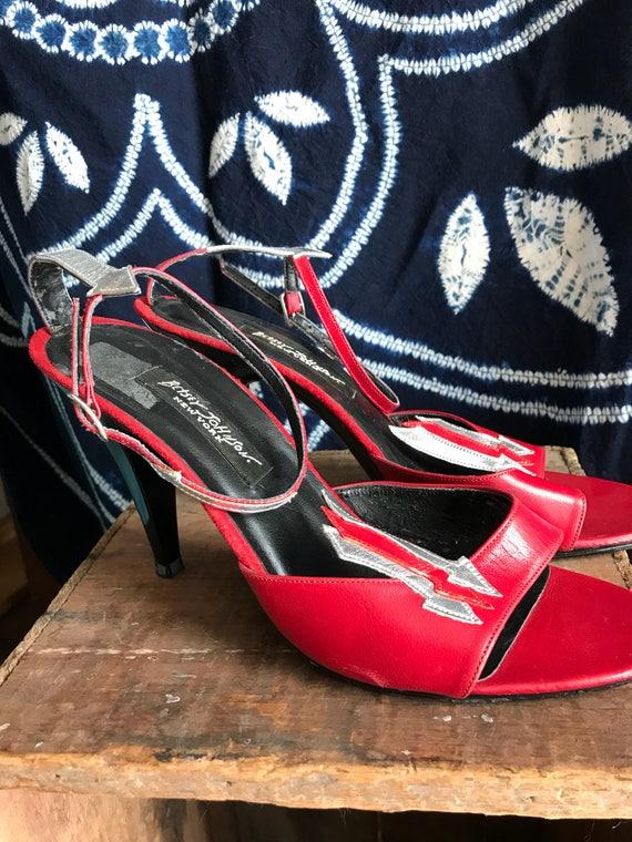 Punk Sexy Betsey Johnson Heels. Red