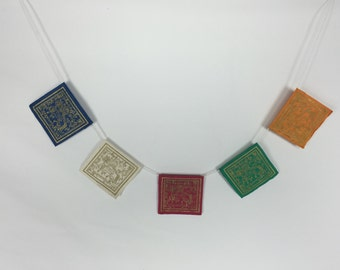 Hand Made Prayer Flags - FREE SHIPPING