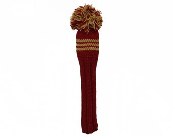 Garnet and Gold Fairway Gold Headcover
