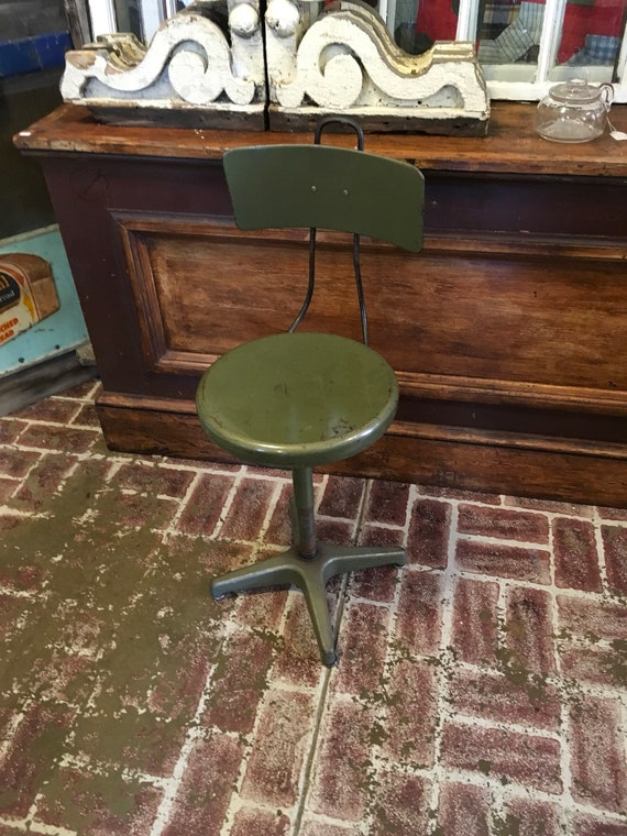 1940s Industrial Desk Chair