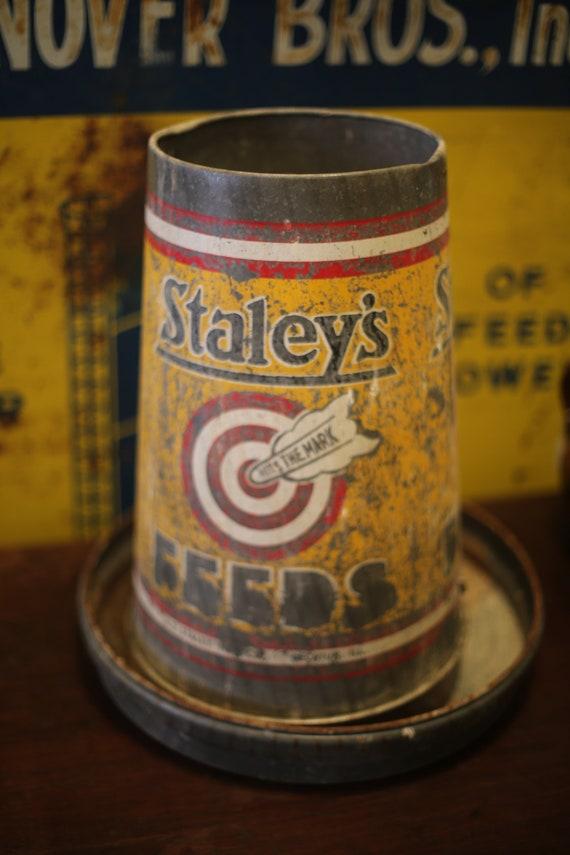 Staley's Chicken Feeder/ Repurposed Planter