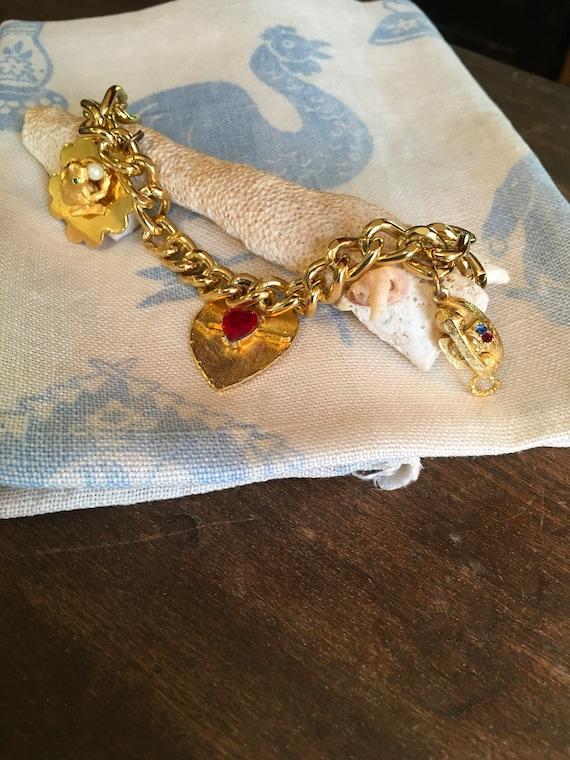 Vintage Hobco Charm Bracelet