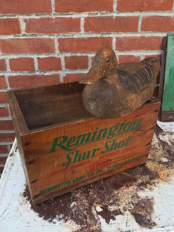 Antique Remington Ammunition Box