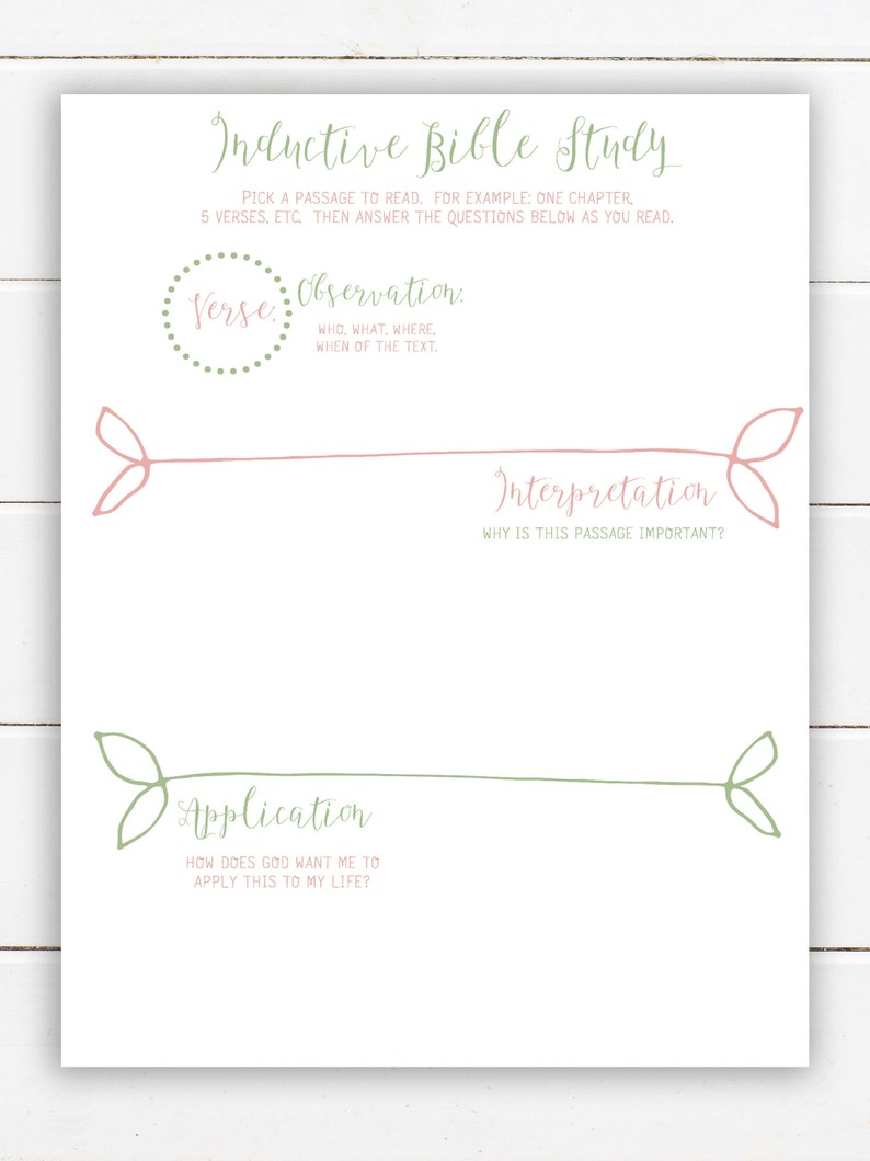 photograph regarding Printable Bible Study Worksheets named Pleased Planner Printable: Bible Investigation Magazine Printable Content Planner Inserts Printable Bible Analyze Worksheets Inductive Bible Exploration