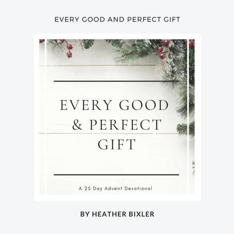 Every Good and Perfect Gift: A 25 Day Advent Devotional  PDF image 0