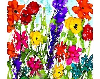 Summer Grandeur Blooming Roses Floral Flowers 100/% Cotton Linen Look Fabric
