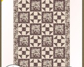 HEARTLAND FC091829-01 quilt pattern INSTRUCTIONS- by Fabric Cafe 3 yard pattern