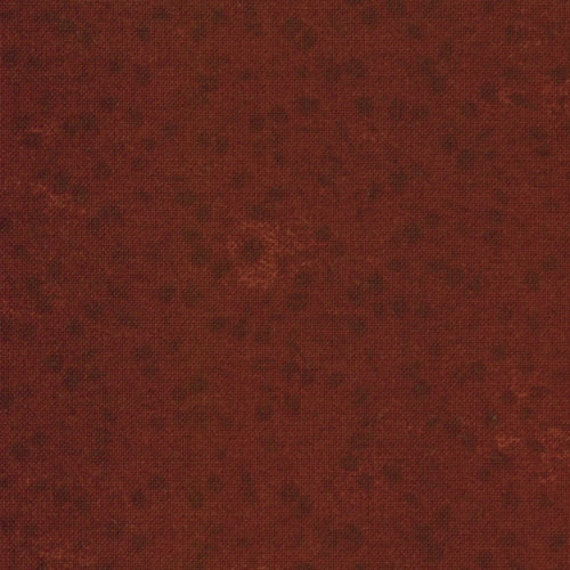 Leaves 100/% Cotton  Patchwork Quilting Kansas Troubles 9602 13 Red Moda