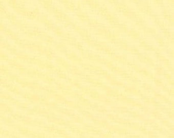 By the yard--Moda  BELLA soft butter yellow Solid cotton quilt fabric- 9900-28 soft pale yellow