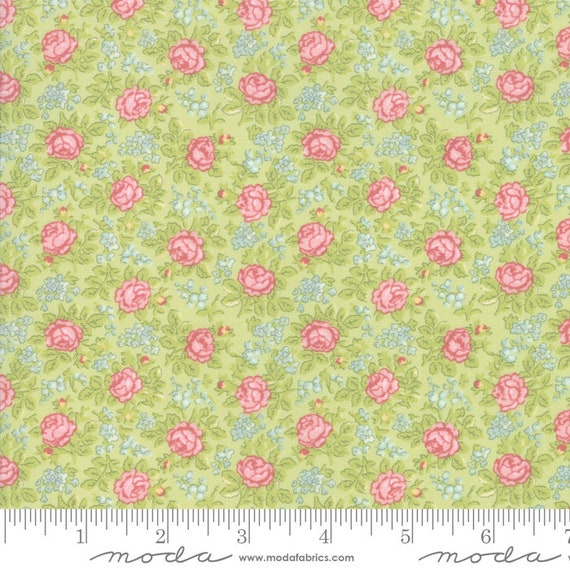 Bramble Cottage Willow 18693 13 by Brenda Riddle for Moda Fabrics Quilt