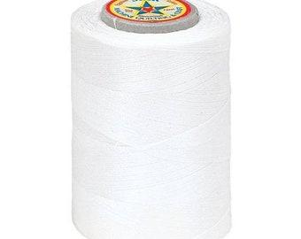 20% off thru 7/10 Star Machine Quilting sewing & Craft Thread- all Cotton-WINTER WHITE-V37-470