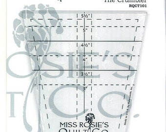 20% off thru 7/10 THE CRUMBLER TEMPLATE- Miss Rosie's Quilt Company- ruler to cut tumbler blocks