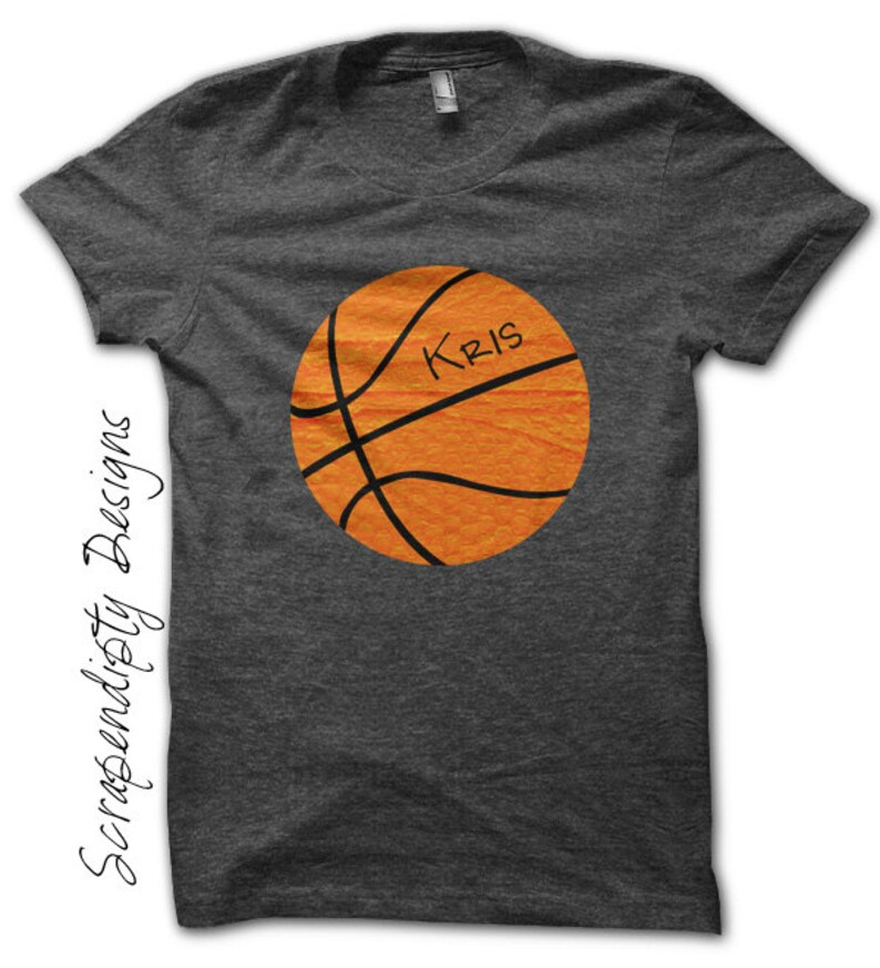 cabe7777a0c99 Basketball Iron on Transfer - Iron on Sports Shirt PDF / Boys Customized  Basketball Shirt / Sports Wall Decor / Baby Sports Outfit IT334