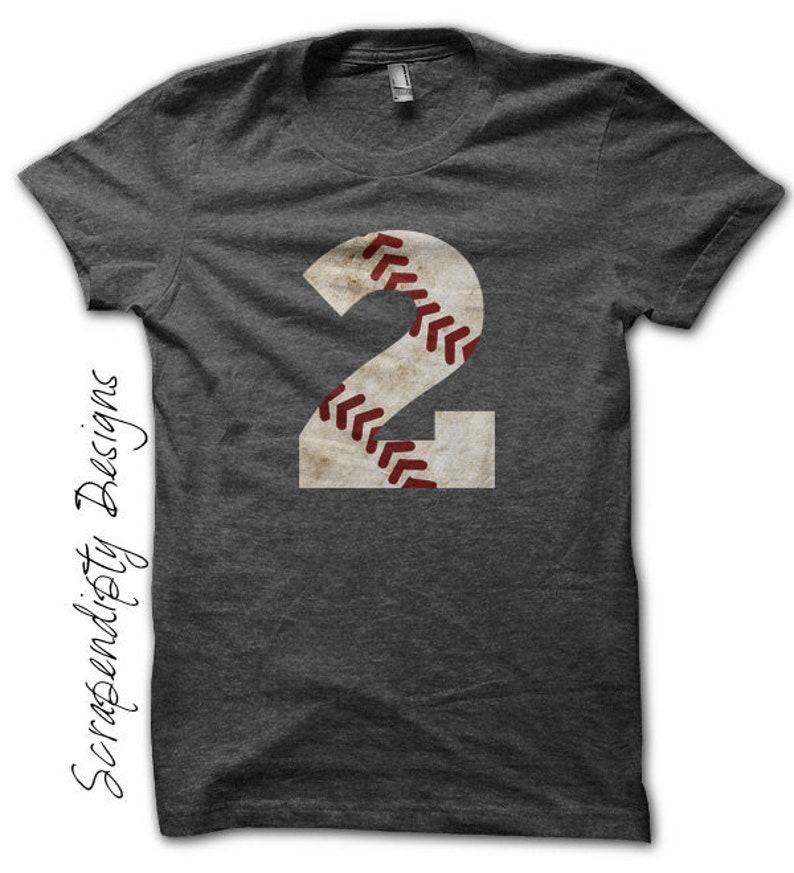 Mom Baseball Iron on Transfer Iron on Number Baseball Shirt Number Only