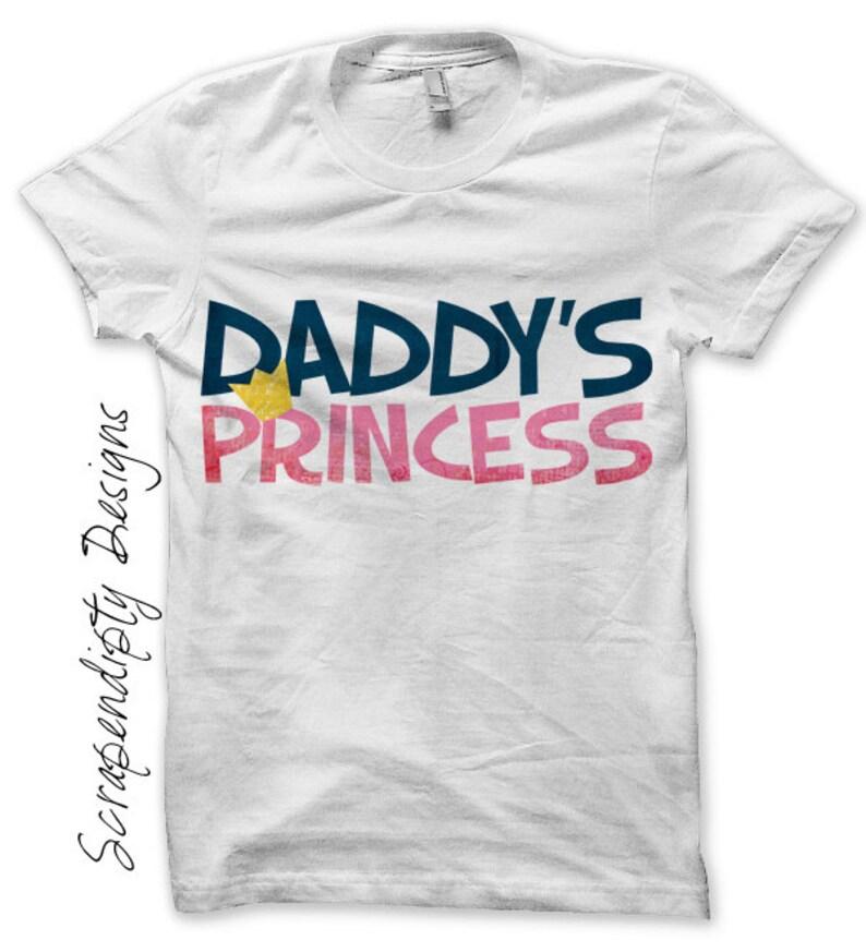 Daddy's Princess Iron on Transfer Daughter Iron on Shirt image 0