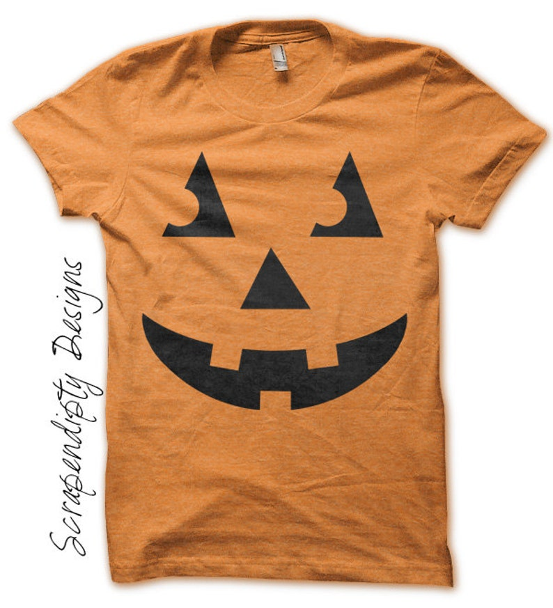 Carved Pumpkin Iron on Transfer Iron on Jack O'Lantern image 0