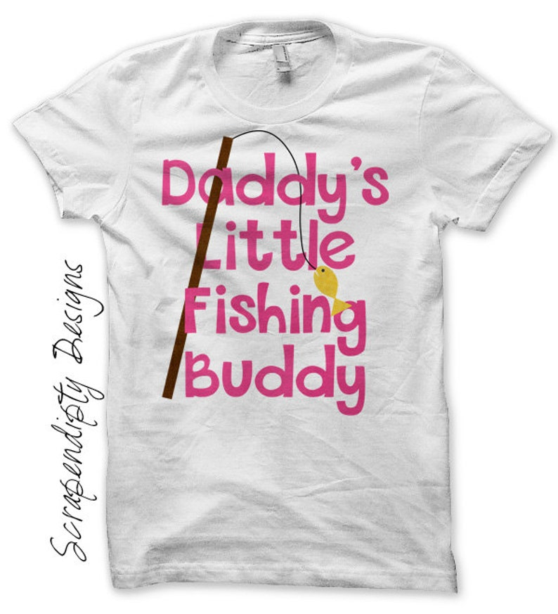 Camping Iron on Transfer Iron on Girls Fishing Shirt image 0