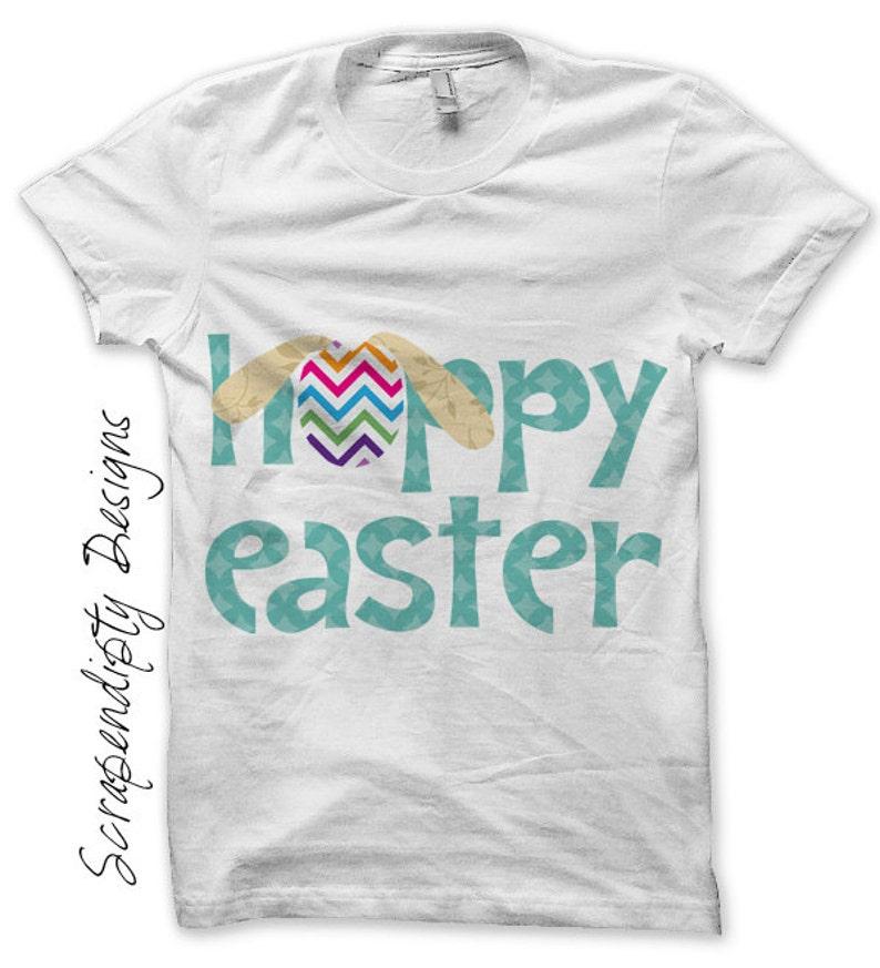 Easter Iron on Transfer Spring Shirt Design Kids Easter image 0