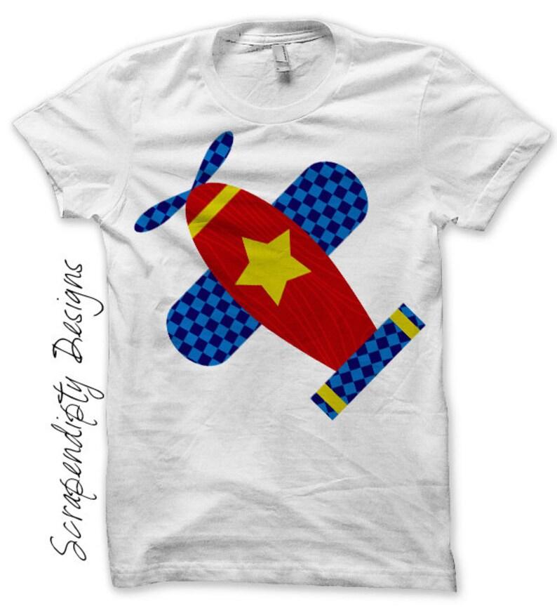 51f64380551c Airplane Iron on Transfer Kids Iron on Shirt PDF   Airplane