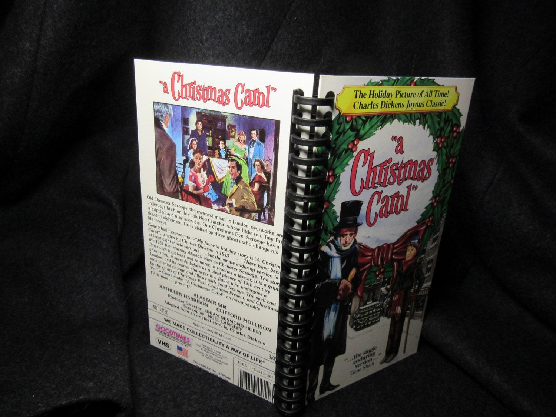 Christmas Carol 1951 VHS Band Feld notebook | Etsy