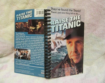 Raise the Titanic VHS notebook