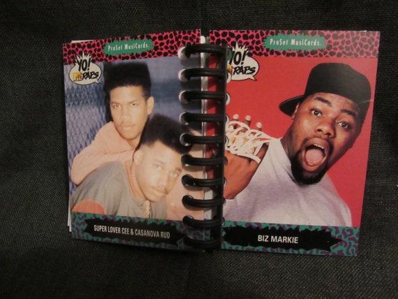 Yo! MTV Raps Trading Card Mini Notebook