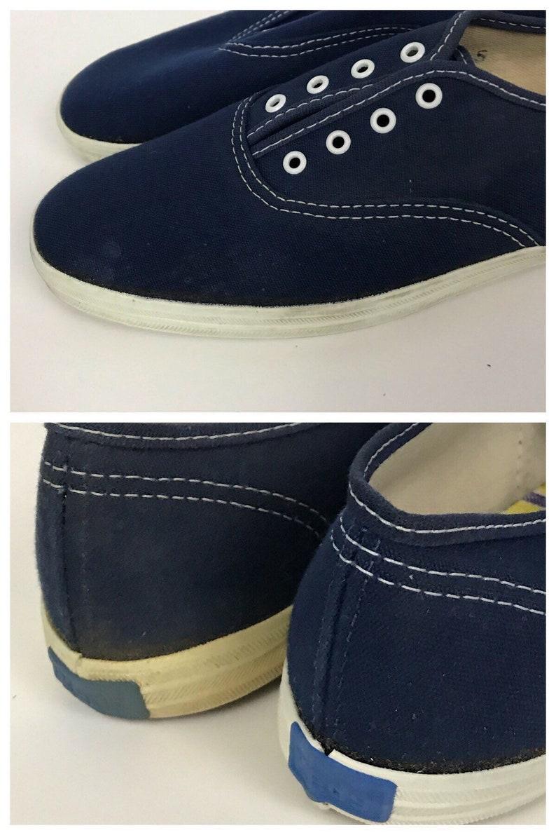 2d9618773a0 Vintage NOS Deadstock 1980s Keds Navy Blue Canvas Oxford Shoes