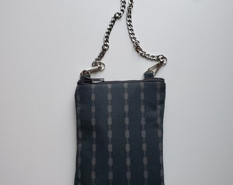 Cell Phone Crossbody Bag - Birthday Present - Handmade Crossbody Bag - Gift for Her - Handbag Shop - Black and White Design