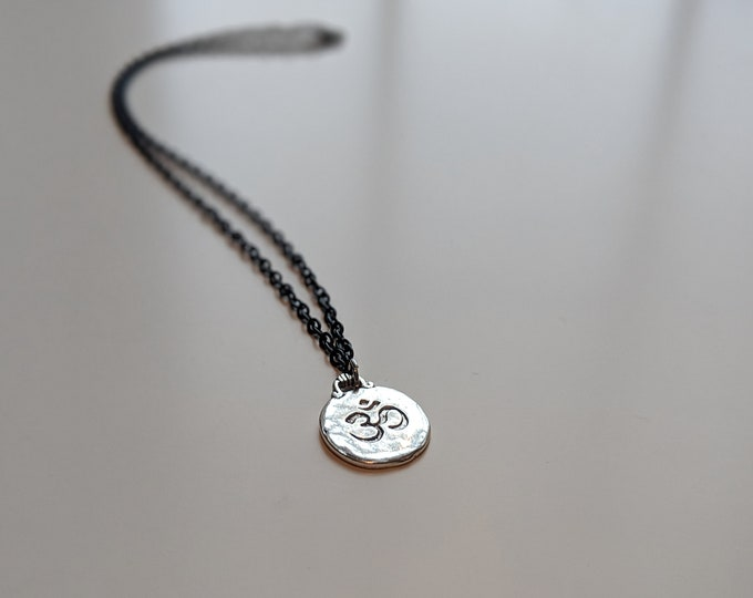 Om Necklace - Yoga Jewelry - Perfect Gift for a Yoga Lover - Gift for Friend- Jewelry Gifts