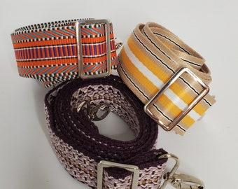 Adjustable Bag Strap Bundle, Pop of Color,  Three Replacement Straps, Straps for Bag or Camera