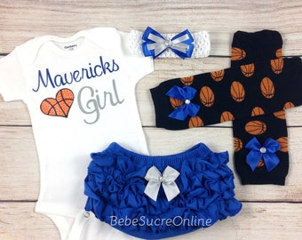Mavericks Girl, Baby Basketball Outfit, Cheerleader Game Day Outfit