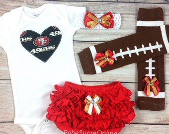 San Francisco 49ers Game Day Outfit