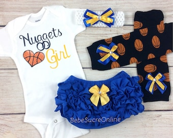 Nuggets Girl, Baby Basketball Outfit, Cheerleader Game Day Outfit
