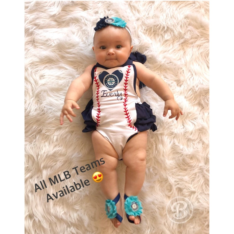 SF Giants Baby Clothes San Francisco Giants Baby Girl Romper Giants Baby Girl Giants Game Day Outfit