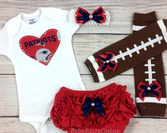 New England Patriots Game Day Outfit