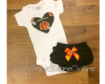 Cinncinati Bengals Girls Outfit