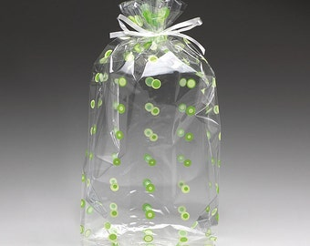 Small Red /& Green Peppermint Candies 7.5x4x2 Cello Cellophane Party Treat Food Snack Bags Free Shipping!