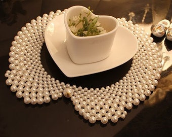 Detachable Lady pearl collar Necklace