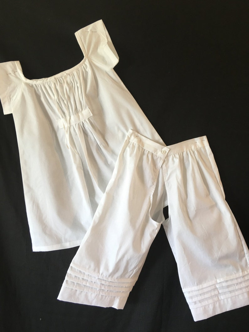 3pc childs/' corded petticoat children underpinning set chemise drawers
