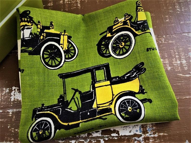 NWOT Tammis Keefe Towel ~~ Antique Roadsters Model Ts Vtg